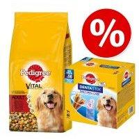 Pedigree 15 kg pienso + 56 uds. Dentastix perros grandes ¡precio especial! - Junior Maxi con pollo y arroz + 56 Dentastix perros grandes