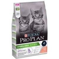 Purina Pro Plan Sterilised Kitten rico en salmón para gatos - 3 kg