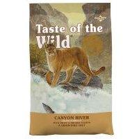 2 kg / 6,6 kg Taste of the Wild Katzenfutter zum Sonderpreis! - Canyon River (2 kg)