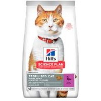 Hill's Young Adult Sterilised con pato pienso para gatos - 2 x 10 kg - Pack Ahorro