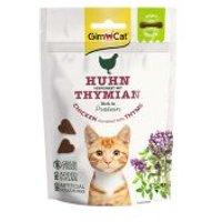 GimCat Soft Snacks para gatos - Pollo con tomillo 60 g