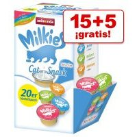 Animonda Milkies Selection 20 x 15 g en oferta: 15 + 5 ¡gratis! - Pack mixto II: 20 x 15 g