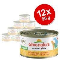 Almo Nature HFC 12 x 95 g - Pack Ahorro - Filete de pollo