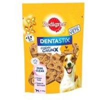 Pedigree Dentastix Chewy Chunx snacks para perros - Maxi con pollo, 68 g