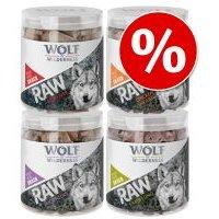 Wolf of Wilderness RAW snacks liofilizados premium - Pack Ahorro 4 unidades - Pulmón de cordero (200 g)