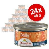 Almo Nature Daily Menu 24 x 85 g - Pack Ahorro - Mousse con pescado del océano
