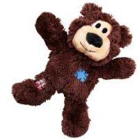KONG Wild Knots oso de juguete para perros - S/M: aprox. 18 x 14 x 8 cm (L x An x Al)