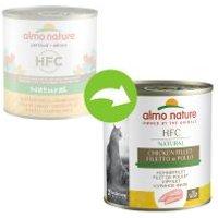 Almo Nature HFC 6 x 280 g - Pollo y gambas al natural