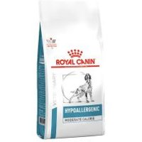 Royal Canin Hypoallergenic Moderate Calorie Veterinary Diet pienso  - 14 kg