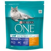 Purina ONE Senior 7+ Chicken & Whole Grains Dry Cat Food - 800g
