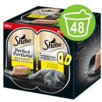 Sheba Perfect Portions 48 x 37,5 g - Pack Ahorro - Pollo