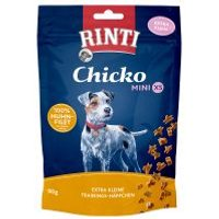 RINTI Chicko Mini XS snacks para perros pequeños - 2 x 80 g - Pack Ahorro