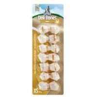 Barkoo Deli Bones Chicken huesos con nudos para perros - L, 6 uds. de 19 cm (510 g)