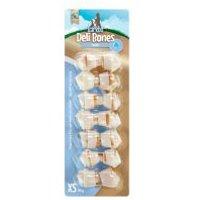 Barkoo Deli Bones Dental huesos con nudos para perros - L, 1 ud. de 20 cm (100 g)