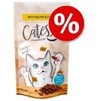 Catessy 15 x 65 g snacks crujentes para gatos - Pack Ahorro - Pack mixto: 3 variedades