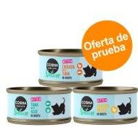 Cosma Nature Kitten - Pack mixto - 24 x 70 g: 3 variedades