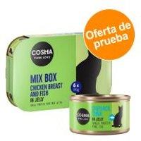 Cosma Original en gelatina - Pack de prueba - 6 x 170 g: 4 variedades