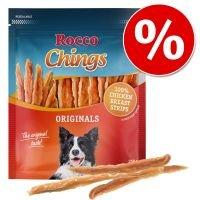 Rocco Chings Originals - Pack Ahorro - Pechuga de pollo curada 4 x 250 g