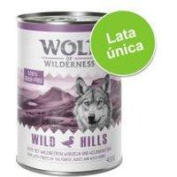 Wolf of Wilderness 1 x 400 g - Green Fields con cordero (1 x 400 g)