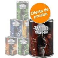 Wild Freedom Adult en latas - Pack de prueba mixto - 6 x 400 g