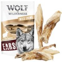 Wolf of Wilderness orejas de conejo - 400 g (36 uds. aprox.)