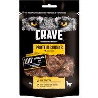 1 + 1 gratis! 2 x Crave Protein Hundesnacks - Chunks mit Huhn (2 x 55 g)