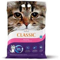 1 kg gratis! 7 kg Intersand Classic Katzenstreu - mit Babypuderduft