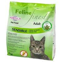 3 x 2 kg Mixpaket Feline Porta 21  - 3 x 2 kg (Finest Sensible, Finest Cats Heaven & Adult Cat)