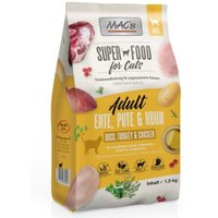 Probierpaket MAC's Superfood for Cats Adult - 3 x 1,5 kg