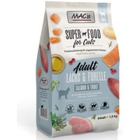 MAC's Superfood for Cats Adult Lachs & Forelle - 1,5 kg