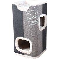 Trixie Cat Tower Jorge - anthrazit / lichtgrau / grau