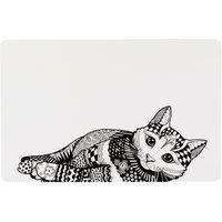 Trixie Napfunterlage Zentangle - L 44 × B 28 cm