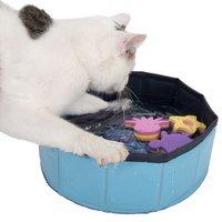 Gioco per gatti Kitty Pool 1 pz (blu)