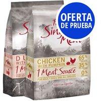 Oferta de prueba: Purizon Single Meat 2 x 1 kg - Pack mixto de prueba - 2 x 1 kg