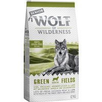 Wolf of Wilderness Senior Green Fields - Lamb - 1kg