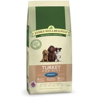 James Wellbeloved Puppy - Turkey & Rice - Economy Pack: 2 x 15kg