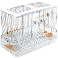 Hagen Vision II Large Bird Cage (L01) - White: 74.9 x 38.1 x 54.6 cm (L x W x H)