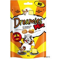 Friandises Dreamies Catisfactions Mix, poulet & fromage - 60 g