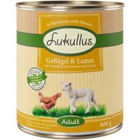 Lukullus Poultry Lamb - 6 x 400g