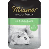 Miamor Ragout Royale in Gravy 22 x 100g - Chicken & Salmon