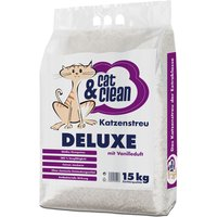 Cat & Clean de Luxe with Vanilla Fragrance - 15kg