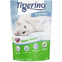 Tigerino Crystals Flower Power Cat Litter - Economy Pack: 3 x 5 litre