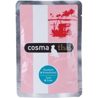 Cosma Thai Pouches 6 x 100g - Tuna