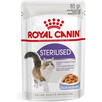 Royal Canin Sterilised in Jelly - 12 x 85g