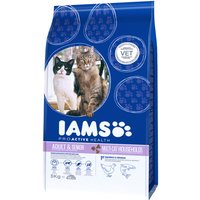 Iams Proactive Health Multi-Cat with Salmon & Chicken Dry Cat Food - 3kg