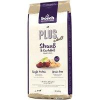 Bosch Plus con avestruz y patata - 2 x 12,5 kg - Pack Ahorro
