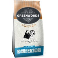 Greenwoods Puppy Turkey & Rice - Economy Pack: 2 x 12kg