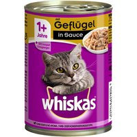 Whiskas 1+ Cans Saver Pack 24 x 400g - Beef & Liver in Gravy