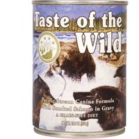 Taste of the Wild - Pacific Stream Canine - Saver Pack: 12 x 390g