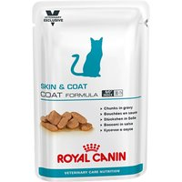 Royal Canin Vet Care Nutrition Cat - Adult Skin & Coat - 12 x 100g